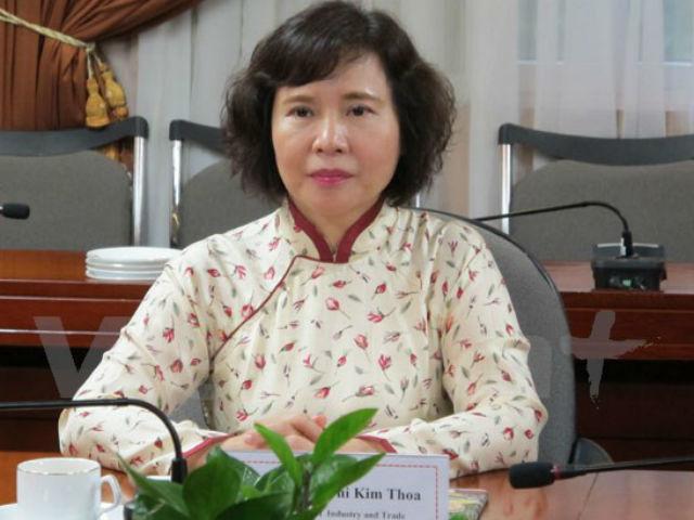 Thứ trưởng, Hồ Thị Kim Thoa, tài sản, bổ nhiệm, sai phạm, Bộ Công Thương, chứng khoán