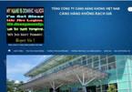 Website hàng loạt sân bay bị đánh sập