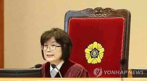 Bức ảnh ấn tượng về người phế truất nữ Tổng thống Hàn