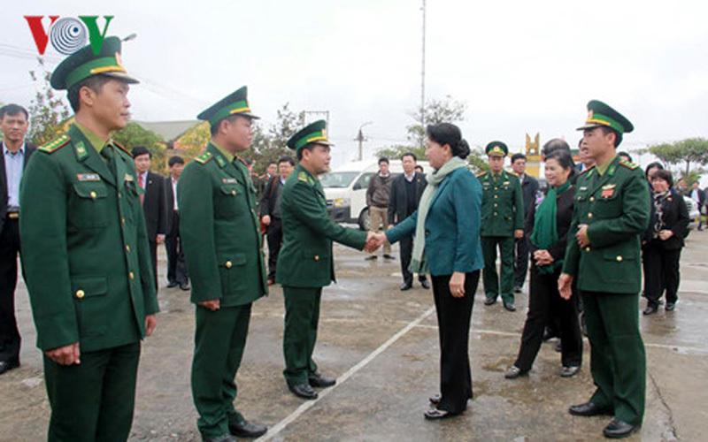 'Lấy lòng dân ở biên giới để bảo vệ vững chắc chủ quyền'