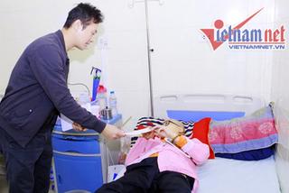 MC Anh Tuấn kìm lòng để không rơi nước mắt