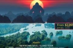 """Hàng loạt tour du lịch đến Việt Nam nở rộ sau khi """"Kong: Skull Island"""" phủ sóng"""