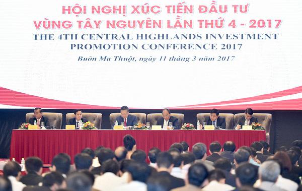 Thủ tướng Nguyễn Xuân Phúc; Đắk Lắk; Tây Nguyên