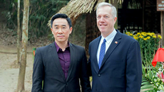 Đại sứ Mỹ thăm di tích lịch sử quốc gia Tân Trào