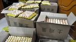 Một đêm bắt 18 nghìn quả trứng gà in chữ Trung Quốc