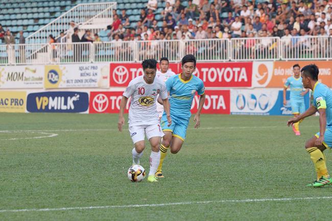 HAGL 0-2 Khánh Hòa, V-League, kết quả V-League vòng 9, Công Phượng, HAGL, Bầu Đức, lịch thi đấu bóng đá hôm nay