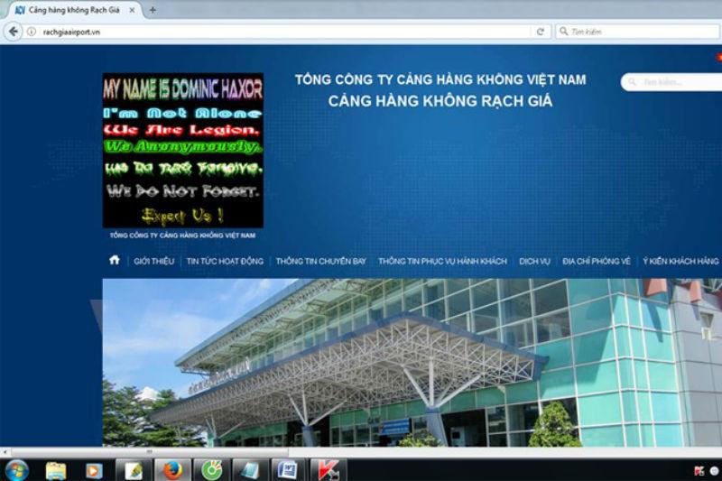Xử phạt 2 thiếu niên tấn công hàng loạt website sân bay miền Nam