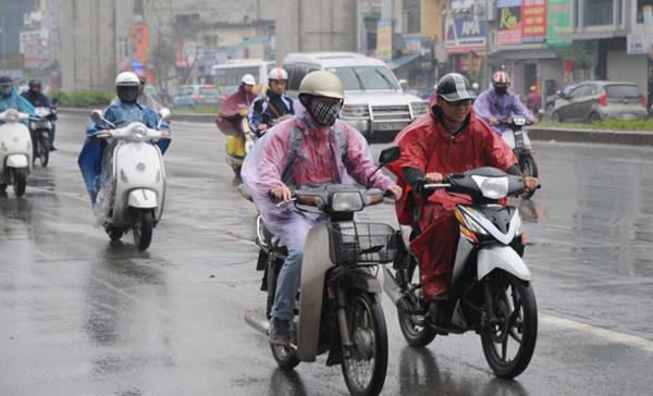 Dự báo thời tiết 13/3: Hà Nội mưa dầm dề đến cuối tuần