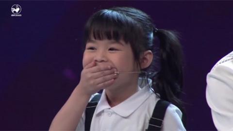 Bé 5 tuổi nói tiếng Anh khiến giám khảo kinh ngạc