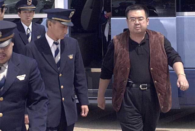 Kim Jong Nam, anh trai Kim Jong Un, dấu vân tay