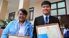 Hai học sinh trường chuyên chế ra các dẫn xuất mới điều trị ung thư