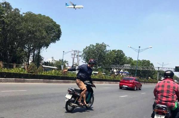 Nam thanh niên chạy xe đánh cược với 'thần chết' ở Sài Gòn