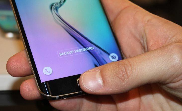Samsung, quét vân tay, smartphone, điện thoại flagship