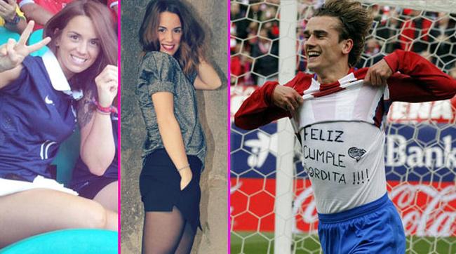 Griezmann, WAGs MU, Mourinho, Premier League, Erika Choperena