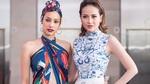 Khánh Ngân lộng lẫy, đọ sắc cùng Lilly Nguyễn