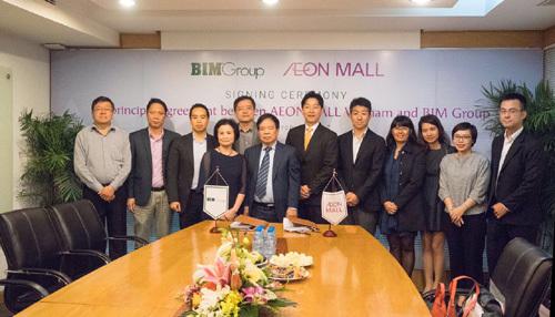 BIM Group góp vốn đầu tư AEON Mall Hà Đông