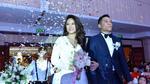 Hoa hậu biển Vân Anh rạng rỡ trong lễ cưới lần hai
