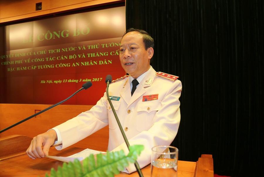 Thủ tướng bổ nhiệm lại Thứ trưởng Bộ Công an