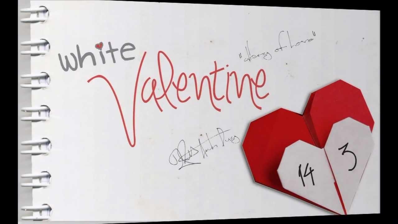 Valentine trắng, Valentine đỏ, kẹo socola, tình yêu