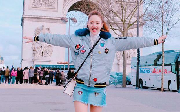 Minh Hằng tiết lộ lý do bất ngờ đến Paris