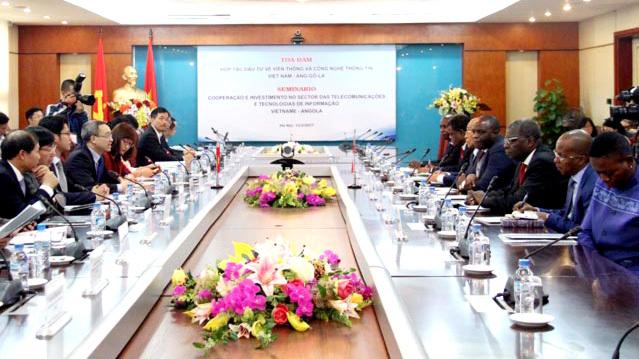Angola chào đón các doanh nghiệp Việt đầu tư CNTT, Viễn thông
