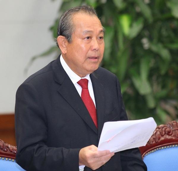 chấm điểm chính quyền, chỉ số hài lòng, Chủ tịch MTTQ Việt Nam, Nguyễn Thiện Nhân, Phó Thủ tướng thường trực, Trương Hòa Bình