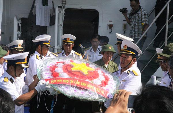 Gạc Ma, chiến sĩ Gạc Ma, Đô đốc Lê Kế Lâm