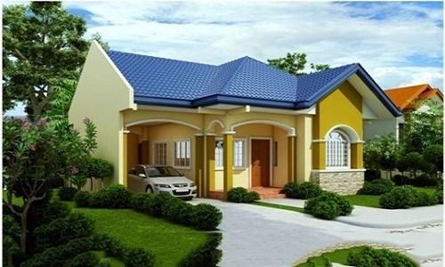 nhà cấp 4, xây nhà, nhà vườn đẹp