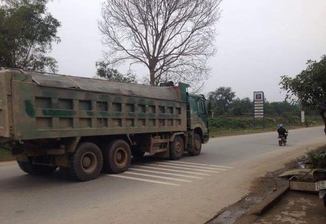 xe quá tải, thanh tra giao thông, bảo kê, Quảng Bình