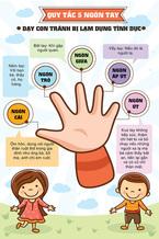 'Quy tắc 5 ngón tay' dạy trẻ tránh bị xâm hại