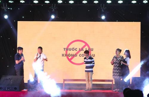NSND Hồng Vân kêu gọi ngừng buôn lậu thuốc lá
