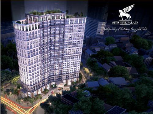 Ra mắt căn hộ mẫu Sunshine Palace