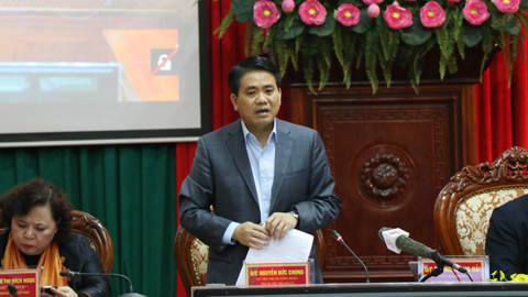 Hoàng Trung Hải, Bí thư Hà Nội, lấn chiếm vỉa hè, dẹp vỉa hè, Nguyễn Đức Chung, Chủ tịch Hà Nội