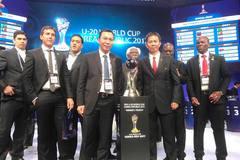 Kết quả bốc thăm VCK U20 thế giới: Việt Nam chung bảng Pháp, Honduras, New Zealand