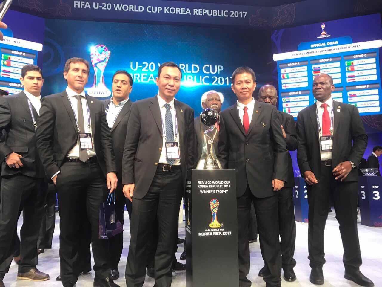 U20 Thế giới, U20 Việt Nam, đối thủ U20 Việt Nam, bốc thăm U20 thế giới, U20 thế giới, HLV Hoàng Anh Tuấn