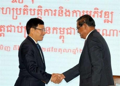 Campuchia, biên giới, lãnh thổ