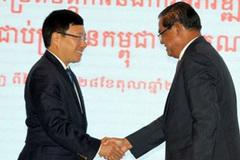 VN - Campuchia không để thế lực nào dùng lãnh thổ phá hoại nhau