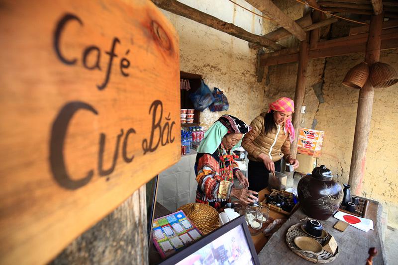 cafe, wifi, núi rừng, Lô Lô, Lũng Cú, dân tộc, Hà Giang