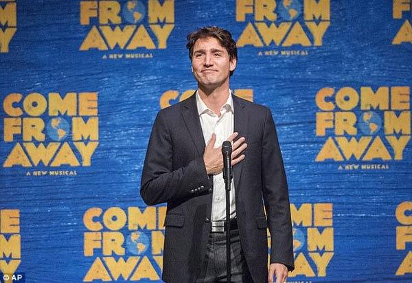 Ivanka Trump, Thủ tướng Canada, Justin Trudeau, xem kịch, Thủ tướng Canada