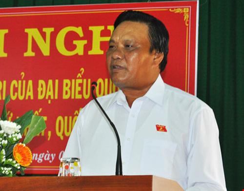 Phó Bí thư tỉnh ủy Bình Định, Lê Kim Toàn, bổ nhiệm cán bộ