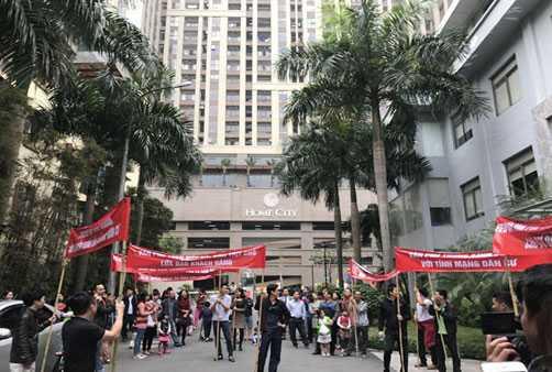 dự án Home City Trung Kính, tranh chấp chung cư, mua chung cư Hà Nội