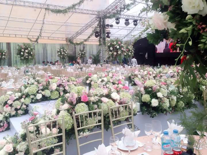 Đám cưới nhà đại gia Hải Phòng gây chú ý vì xa hoa bậc nhất