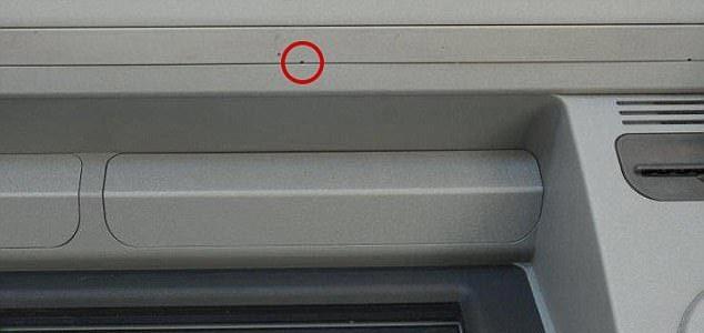cây ATM, quay lén, rút tiền qua ATM