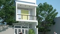 Gợi ý xây nhà 2 tầng hiện đại với 400 triệu đồng