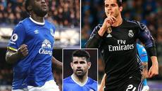 "Chelsea ""phế"" Diego Costa, MU tranh Wilshere với Man City"