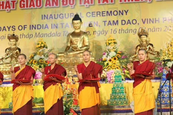 Khai mạc ngày Văn hoá Phật giáo Ấn Độ tại Việt Nam