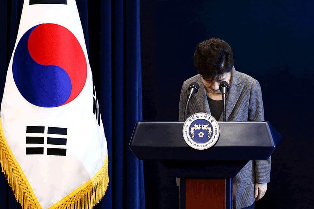 Park Geun-hye, nữ Tổng thống, tổng thống Hàn Quốc, Hàn Quốc, Nhà Xanh, chính trị, phế truất