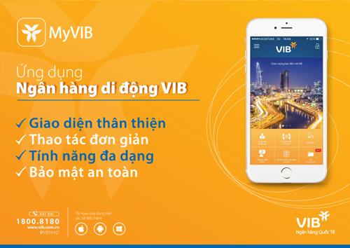 Ứng dụng MyVIB nhận hai giải thưởng quốc tế