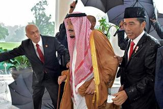 Hé lộ quà 'khủng' vua Ảrập tặng quan chức Indonesia