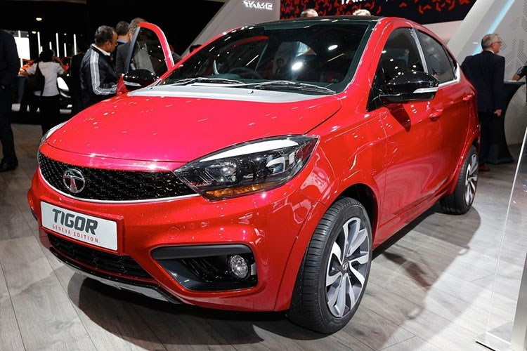 """Tata """"trình làng"""" xe ôtô siêu rẻ Tigor giá chỉ từ 117 triệu"""